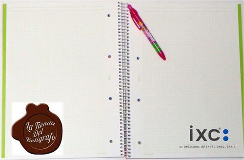 agatha ruiz de la prada set cuaderno+bolígrafo rosado