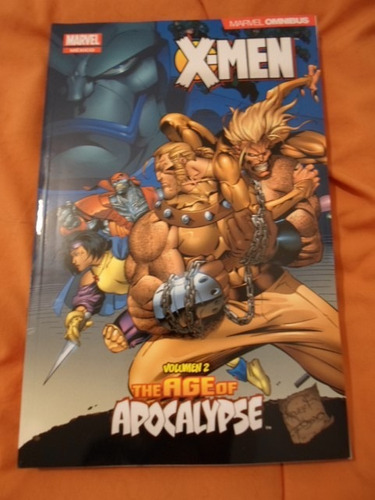 age of apocalipse tomo 2 increible marvel comics