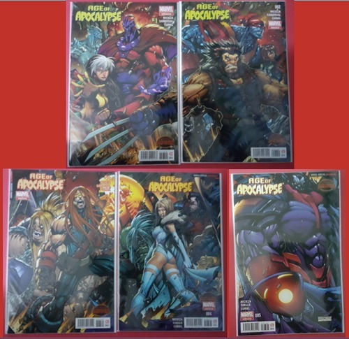 age of apocalypse, 1-5 completo secret wars