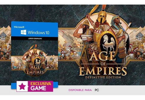 age of empires: definitive edition for pc and windows10