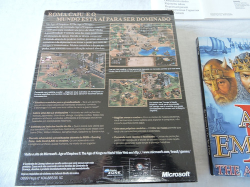 age of empires ii age of kings original colecionador pc
