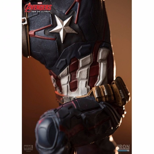 age of ultron captain america - 1/6 diorama - iron studios