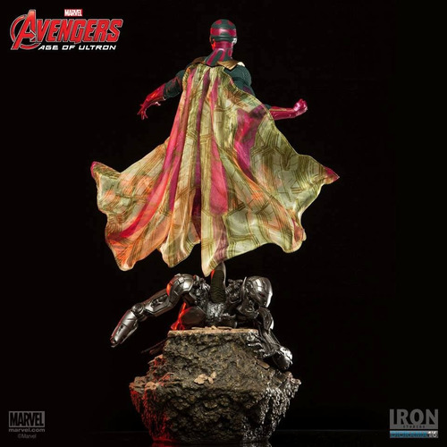 age of ultron vision - 1/6 battle diorama - iron studios