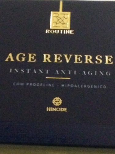 age reverse - botox instantâneo caixa com 21 sachês