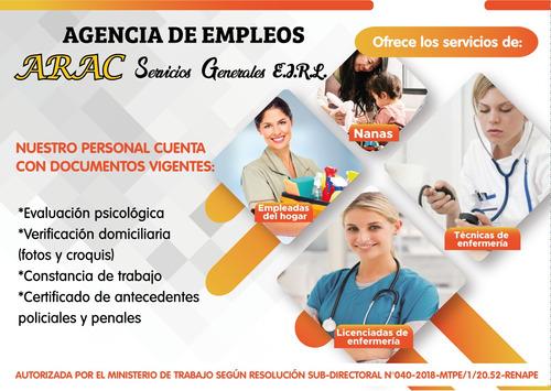 agencia de empleos