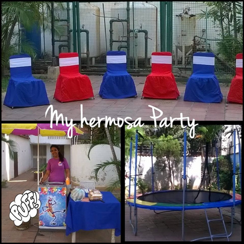 agencia de festejo alquiler de sillas y mesas