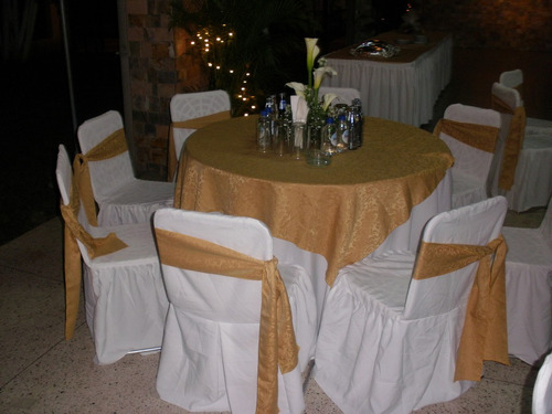 agencia de festejo, sillas, mesas, mesones, emergencias