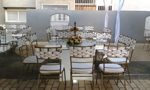 agencia de festejos alquiler de sillas tiffany mesas y puff
