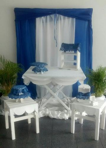 agencia de festejos alquiler sillas mesas mesones decoración