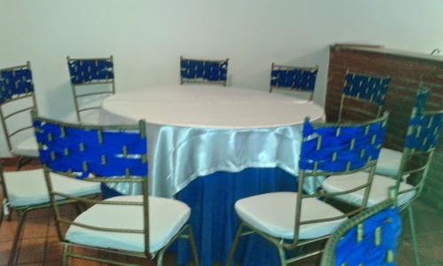 agencia de festejos: alquiler sillas tiffany,mesas, puff