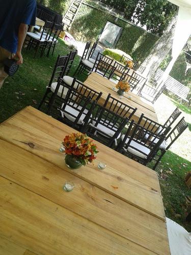 agencia de festejos: mesas,sillas,salon,toldo,boda,15 años