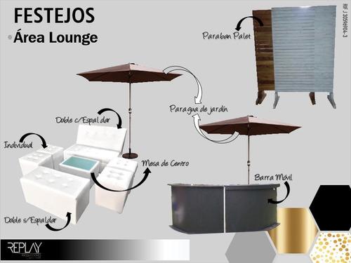 agencia de festejos. sillas mesas sonido animación