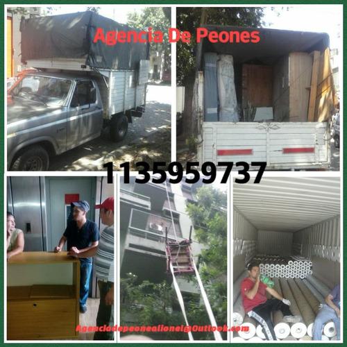 agencia de peones lionel personal con seguro y factura
