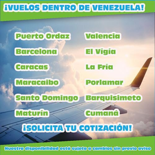 agencia de viajes: boletos aéreos, terrestres, hospedaje,...