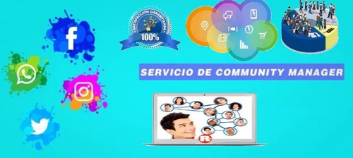 agencia digital community manager & social media + wordpress