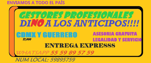 agencia vehicular no anticipos