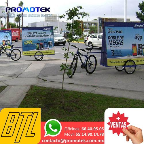 agencias de publicdad btl, publicidad movil edecanes aaa, aa
