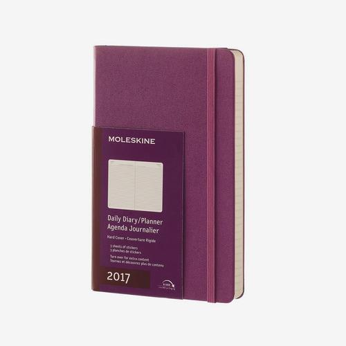agenda 2017 diaria violeta hc l