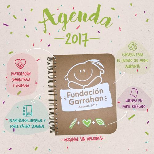 agenda 2017 - fundación garrahan - sin apliques 3d