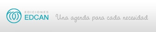 agenda 2018 diaria edcan n8 con presilla de cuero
