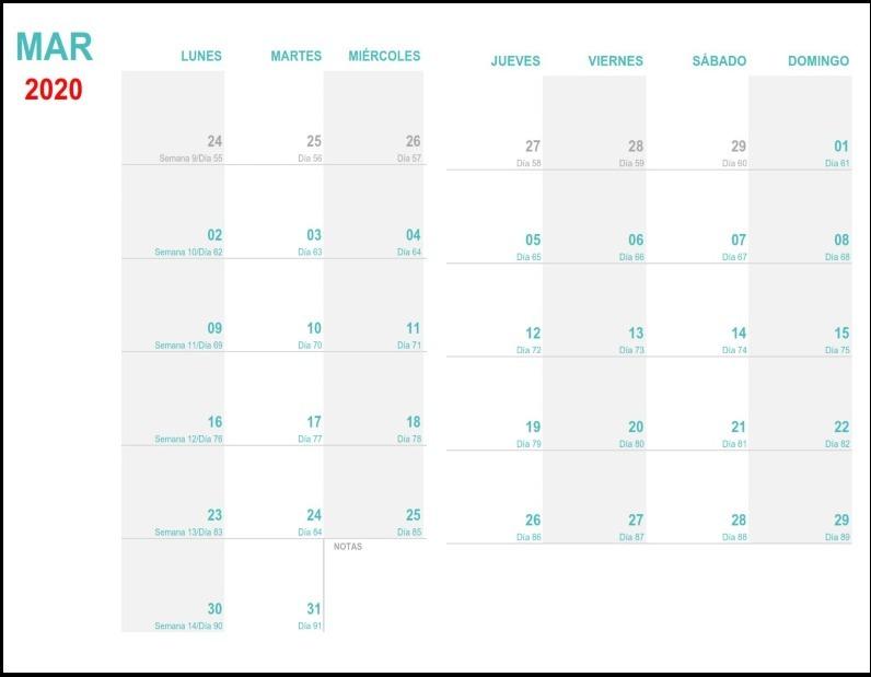 Calendario Mensual 2019 Para Imprimir.Agenda 2019 2020 Pdf Para Imprimir Semanal Envio Gratis
