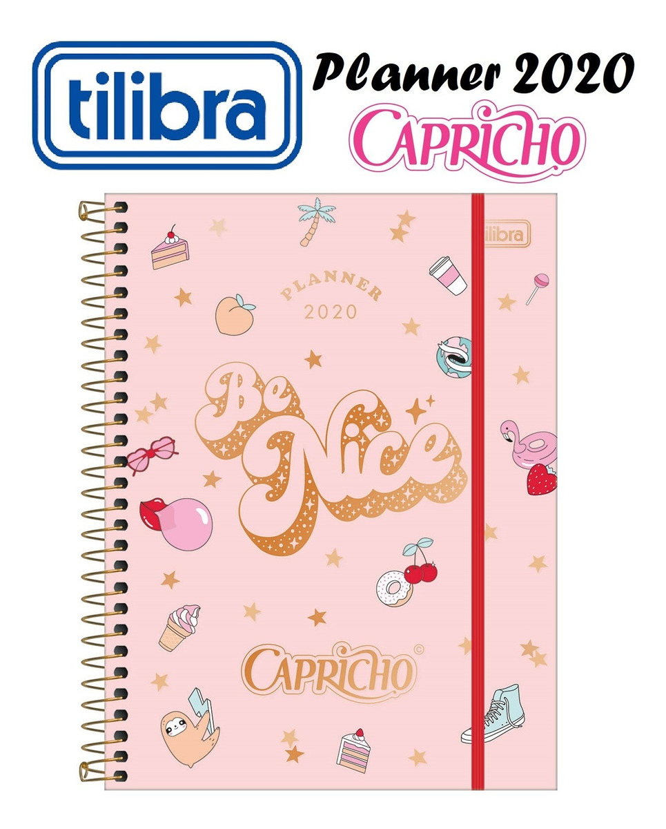Agenda 2019 Capricho Planner Tilibra Super Oferta R 29 00 Em