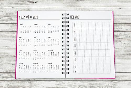 agenda 2020 15 x 21 semanal tapa dura cosa de minas