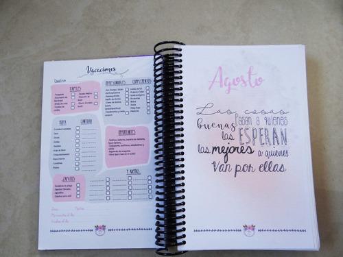 agenda, agenda 2019, agendas personalizadas, diario, libreta