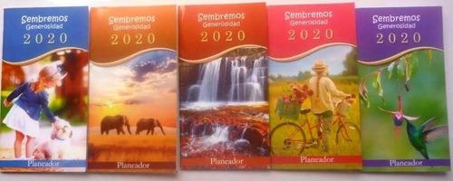 agenda bolsillo planeador 2020 / almanaque