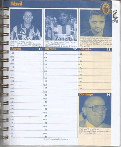 agenda canalla 2013 / club atletico rosario central /