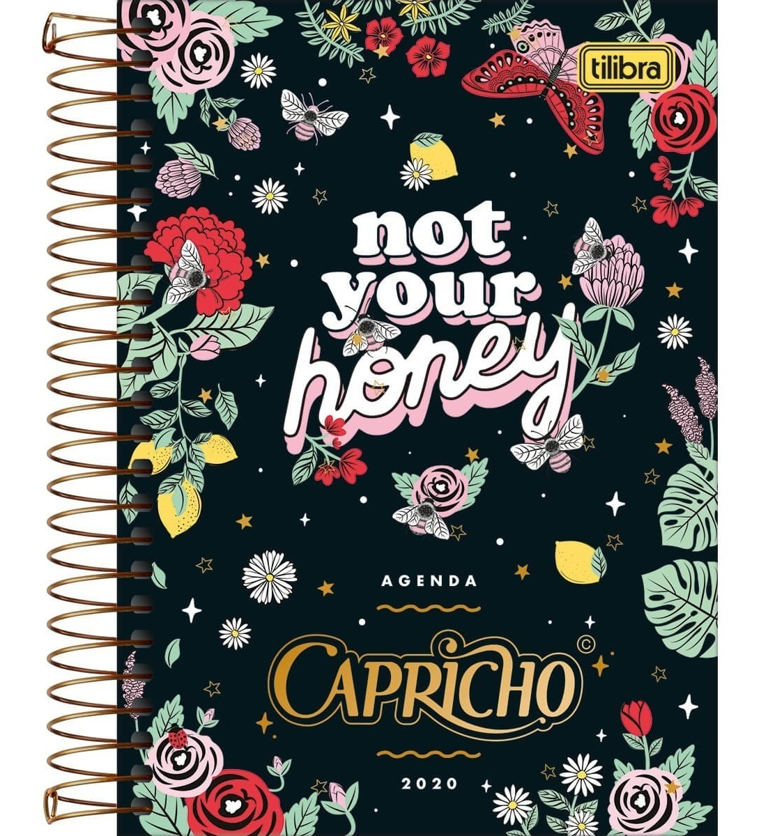 Agenda Capricho Espiral 2020 Capa 4 Not Your Honey Tilibra R 37