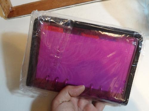 agenda cuaderno notas telefonos organizador cubiert plastica