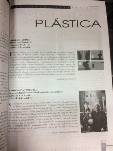 agenda cultural - jorge tadeo lozano - colombia - 2003