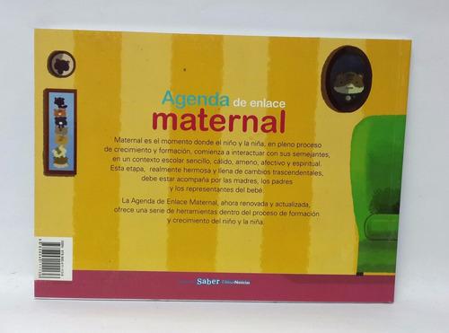 agenda de enlace maternal  editorial saber