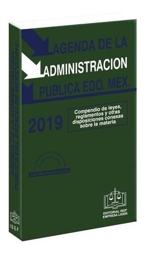 agenda de la administración pública del edo de méxico 2019
