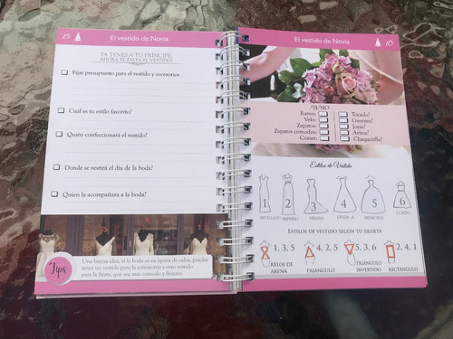 agenda de la novia, boda perfecta - con contenido exclusivo!