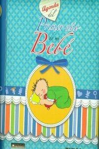 agenda del primer año de mi bebé (agenda de mi  envío gratis