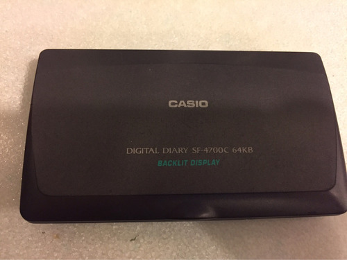 agenda digital casio sf-4700 c
