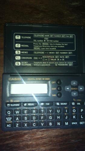 agenda electronica digital diary sf-2000