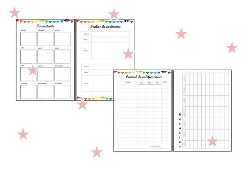 agenda escolar 2018 imprimible - planner