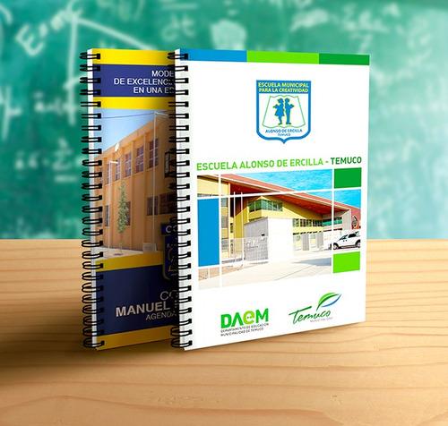 agenda escolar · cuaderno de control 2019 · personalizado