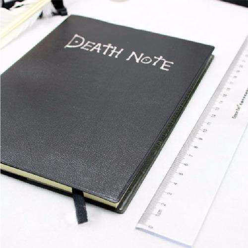 agenda libro de la muerte death note con pluma random comics