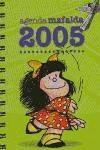 agenda mafalda 2005 anillas(libro )