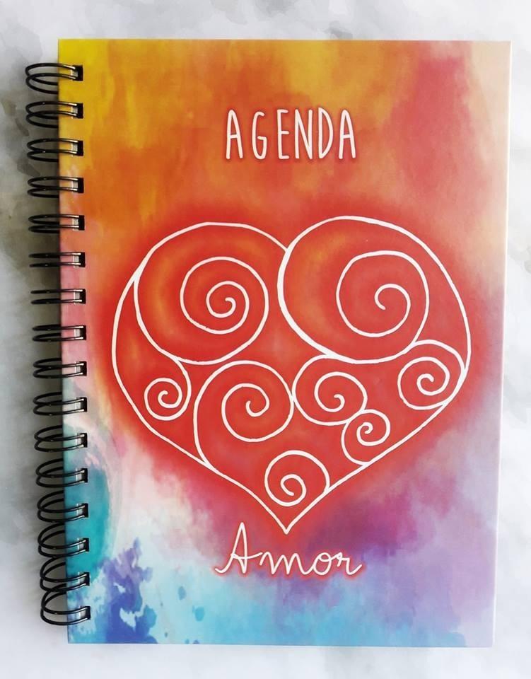 Agenda Perpetua Amor Con Frases Positivas 350 00 En Mercado Libre