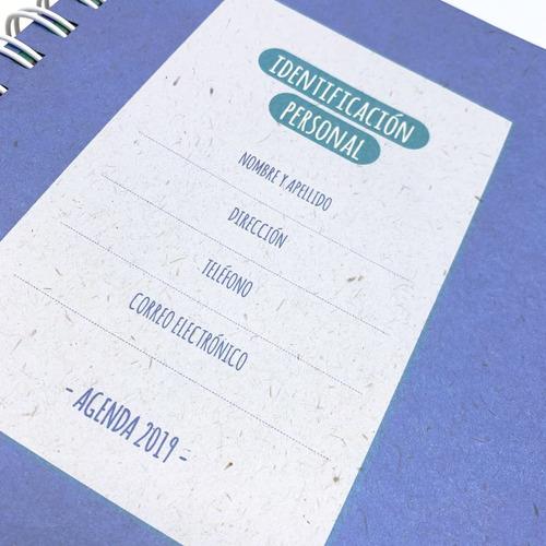 agenda planificador 2019 - fundación garrahan - ecológica