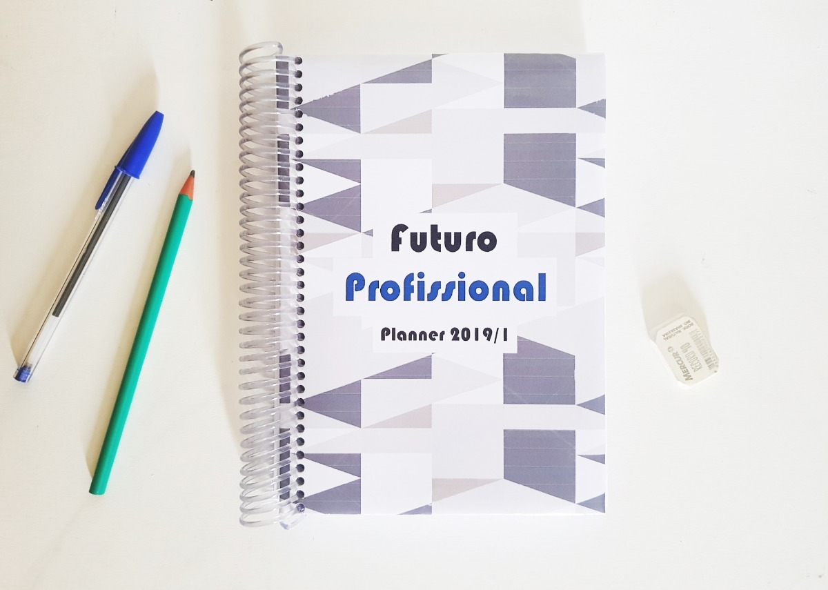 7464de0e6 Agenda Planner Universitario Masculino / Jan A Junho 2019 - R$ 99,90 ...