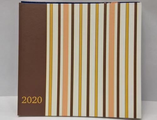 agenda semanal 2020 tienda fisica 270 mil 20.5 cm x 22 cm