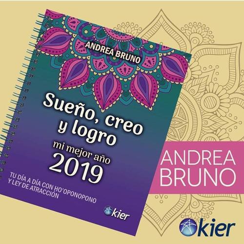 agenda sueño, creo y logro 2019