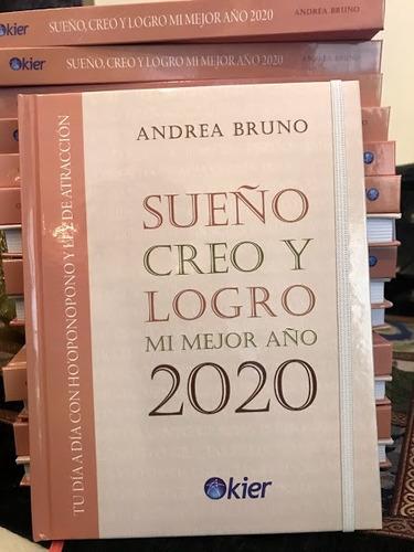 agenda  sueño, creo y logro  mi mejor 2020
