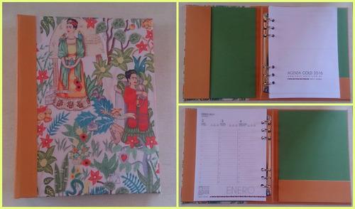 agendas 2016 encuadernación artesanal!
